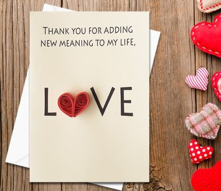Love Card, Quilling Greeting Card, handmade greeting card, cool greeting card, clever greeting card, Anniversary Card